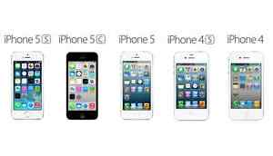 iphone 4-$79-4s-99,5-$199-5s-$269 -telus,bell,virgin,kodo,public