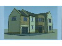 BUILDING PLOT FOR SALE WITH PLANNING CONSENT FOR 4 BED DETACHED HOUSE