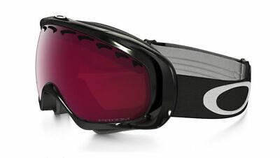 Oakley Ski Snow Goggles Crowbar OO 59-753 Jet Black Prizm Rose