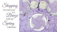 Wedding Rentals--Affordable and Beautiful