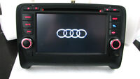 audi tt special fit gps bluetooth dvd player