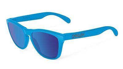 New OAKLEY Sunglasses  FROGSKINS OO9013-15 Sky / Sapphire Iridium Fast Ship