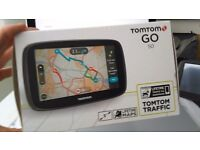 """TomTom Go 50 5"""" Lcd Screen (Life Time Maps & Europe) £45"""