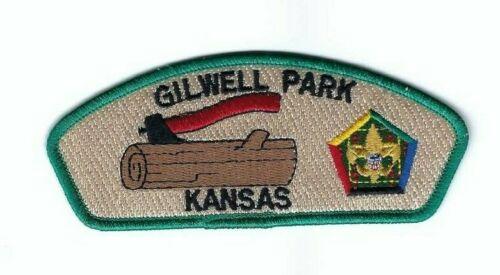 Boy Scout Patch Quivira Council Woodbadge SA-23 CSP Gilwell Park