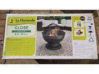 La Hacienda Globe Steel Firepit