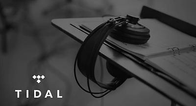 Playlists are easy to create with Tidal