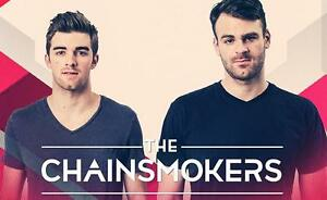 2 tickets for The Chainsmokers