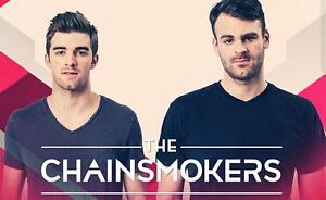 CHAINSMOKERS TICKETS S307,R4 - $130 total for pair (below cost)