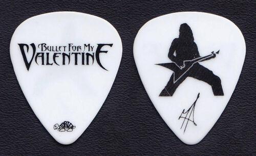 Bullet For My Valentine Matt Tuck Signature White Guitar Pick - 2010 Tour