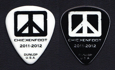 Chickenfoot Michael Anthony Signature White Guitar Pick #4 - 2011-2012 Tour