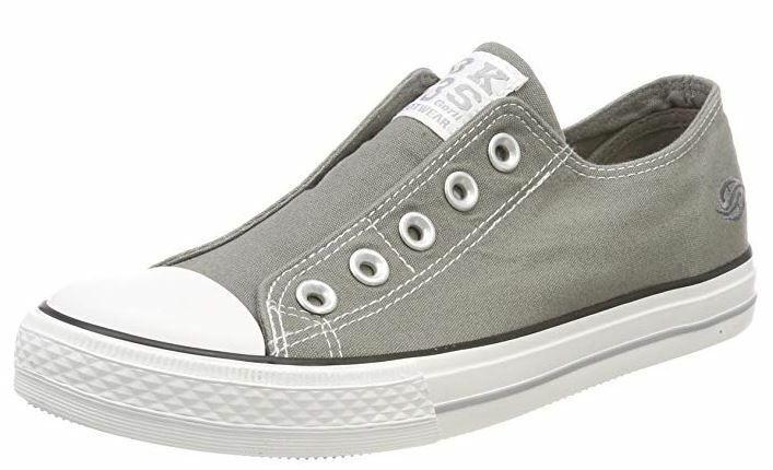 Dockers Damen Schuhe Sneaker Turnschuhe 36UR202-710 (grau 200)
