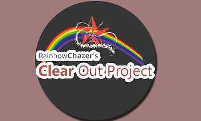 RainbowChazer's Clear Out Project