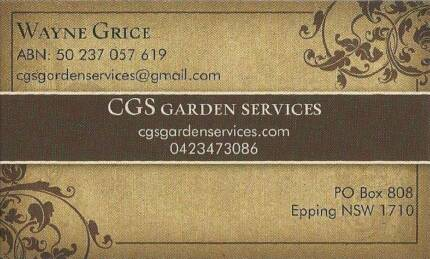 CGSgardenservices Eastwood Ryde Area Preview