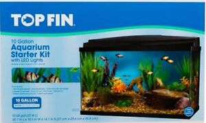 10 G Top Fin Fish Tank plus accessories