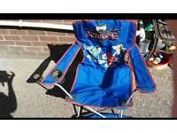 Power rangers folding chair /seat kids power rangers