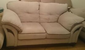 Suite 2 seater couch and armchair