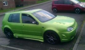 mk4 golf 1.8t gti 195bhp swap for zafira or van with seats in back