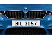 BIL 3057 NetPlates Personalised Cherished Car Registration Plate Private Number Plate BMW AUDI JAG