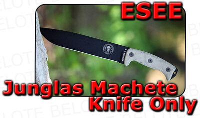 - ESEE JUNGLAS Machete KNIFE ONLY Micarta Handle no Sheath JUNGLAS-KO JUNGLAS-KO-E