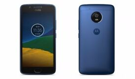 Moto G5 Sapphire Blue on O2 - 16GB with 2GB Ram