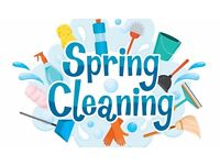 spring cleaning of houses