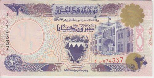 Bahrain Banknote P16 20 Dinar, Unauthorized, EF/AU