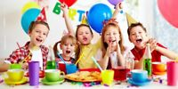 Party d enfants, anniversaire !