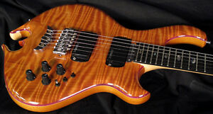 New-Alembic-Darling-Guitar-Curly-Redwood-LEDs-Stunning