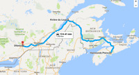 Ride Halifax to Ottawa Aug 29