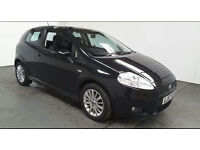 2007(57)FIAT GRANDE PUNTO 1.4 16V DYNAMIC SPORT BLACK,VERY LOW MILES,NEW MOT,LOVELY CAR,GREAT VALUE