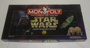 Star Wars Monopoly Board Game Collector's Edition