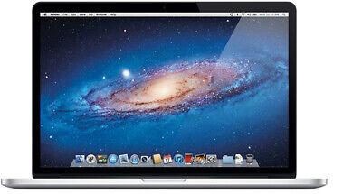 """Apple MacBook Pro Retina 15.4"""" 256gb ssd 8gb ram (mid 2012) sticky keys"""