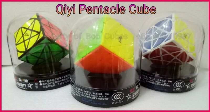 ++ Qiyi Pentacle Cube for sale in Singapore