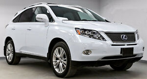 2010 Lexus RX 450h SUV, Crossover, Ultra Premium Package
