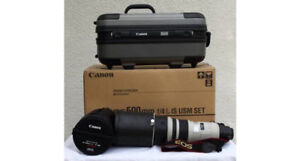 Canon 500MM f4 is usm