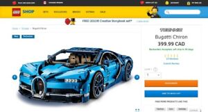 Lego Bugatti Chiron 42083 BNIB