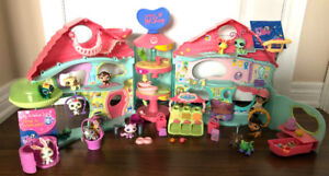 COLLECTIBLE LPS Retired Biggest Littlest Pet Shop Playset
