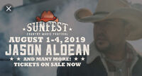 SUNFEST 2019 CAMPING TICKETS - TRACTOR PULL - 2 SITES
