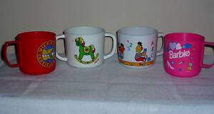 4 Toddler Cups : Clean,SmokeFree, As Shown Cambridge Kitchener Area image 1
