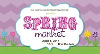 North End Rec Spring Market Shopping Event
