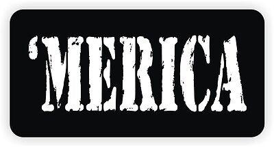 Merica Hard Hat Sticker Welder Helmet Decal Motorcycle America Toolbox Funny
