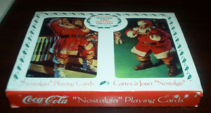 Coca Cola Playing Cards in Tin Box 1993