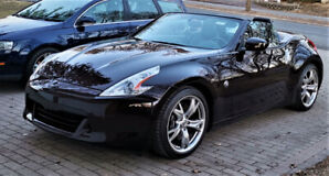 Nissan 370z roadster cabriolet convertible