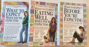 First three books in the What to Expect series