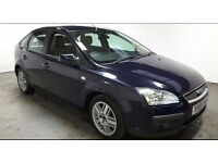 2006 FORD FOCUS 2.0 GHIA MET BLUE,NEW SHAPE,CLEAN CAR,GREAT VALUE