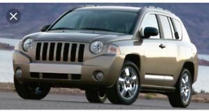 1000$ Jeep compass 4x4 2008