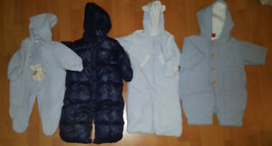 3-6 Mths Baby Boy Clothes and Coats (Take 47 Pieces for $60)