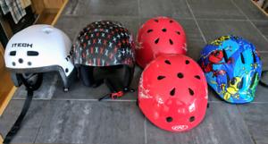 Helmets - $10 each