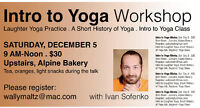 INTRO TO YOGA WORKSHOP