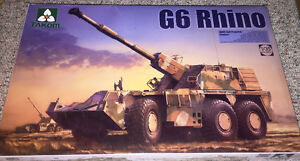 Takom 1/35 SANDF Self-Propelled Howitzer G6 Rhino